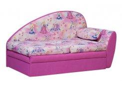 Диван Радуга розовый
