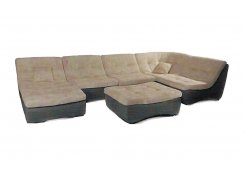 Модульный диван Монреаль 409 описание, фото, выбор ткани или обивки, цены, характеристики