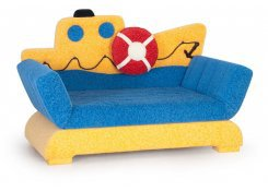 Детский диван Кораблик описание, фото, выбор ткани или обивки, цены, характеристики