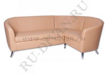 Угловой диван Алекто модульный фото 1 цвет бежевый