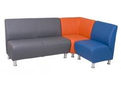 Модульный угловой диван Блюз 10-08 описание, фото, выбор ткани или обивки, цены, характеристики