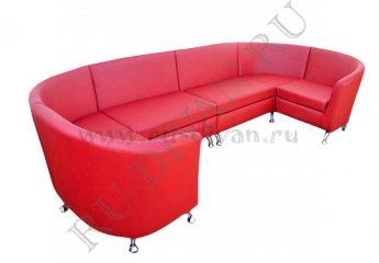 Модульный большой диван Алекто
