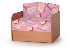 Детский диван Юлечка ДП описание, фото, выбор ткани или обивки, цены, характеристики