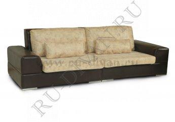 Диван Монца двухместный фото 1 цвет коричневый