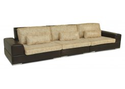 Трехместный диван Монца описание, фото, выбор ткани или обивки, цены, характеристики