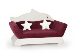 Детский диван-игрушка Дельфин описание, фото, выбор ткани или обивки, цены, характеристики