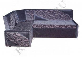 Угловой диван Лотос для кухни фото 1 цвет серый