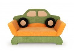 Диван Авто зелёный