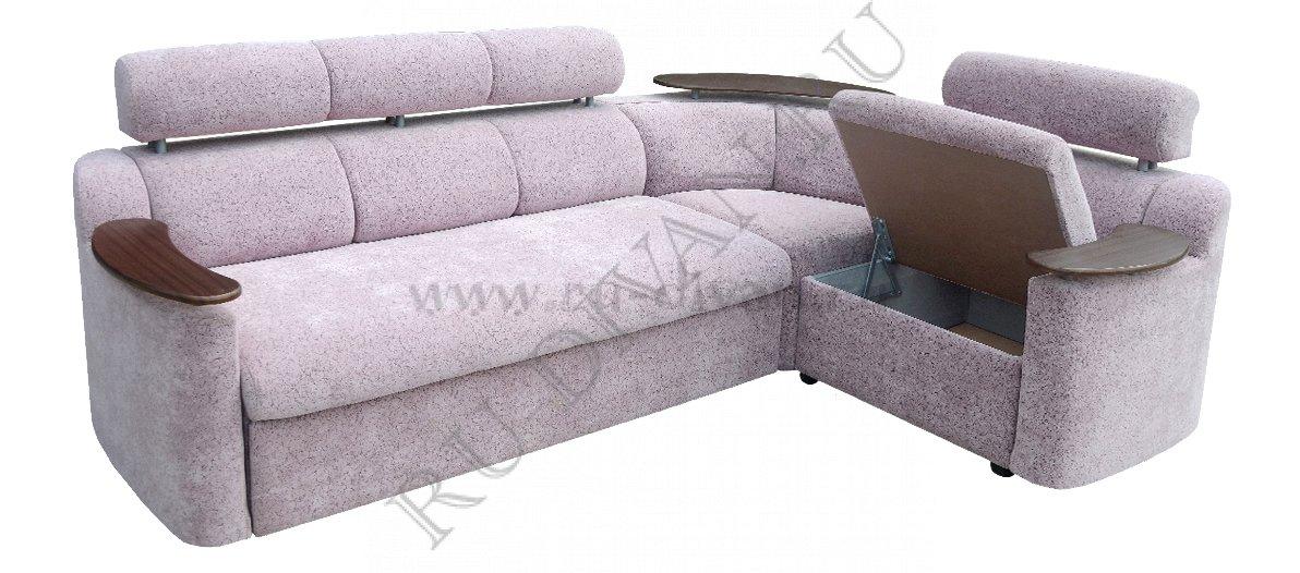 Угловой диван с полкой Москва