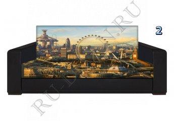 Диван Лондон с фотопринтом фото 1