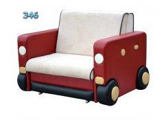 Детский диван Авто-1 описание, фото, выбор ткани или обивки, цены, характеристики