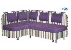 Угловой диван Лагуна-2 фиолетовый