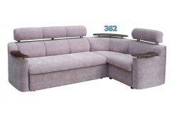 Угловой диван Лючиана с полкой описание, фото, выбор ткани или обивки, цены, характеристики
