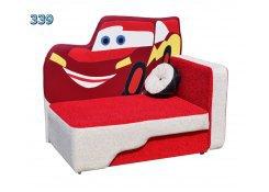 Детский диван Тачка описание, фото, выбор ткани или обивки, цены, характеристики
