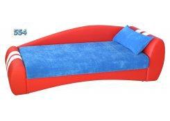 Детский диван Гонщик описание, фото, выбор ткани или обивки, цены, характеристики