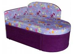 Детский диван Карапуз описание, фото, выбор ткани или обивки, цены, характеристики