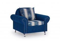 Кресло Арагон синее