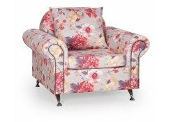 Кресло Арагон розовое