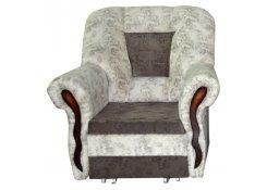 Кресло-кровать Лиана серое