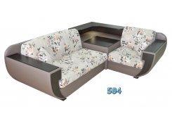Угловой диван Ночеас описание, фото, выбор ткани или обивки, цены, характеристики
