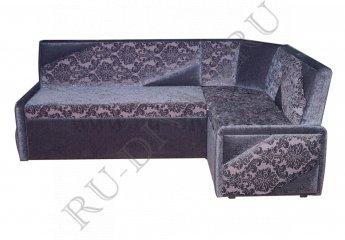Угловой диван Лотос Люкс для кухни фото 1 цвет серый