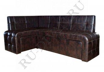 Угловой диван Прага для кухни фото 1 цвет коричневый