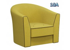 Кресло Лацио жёлтое