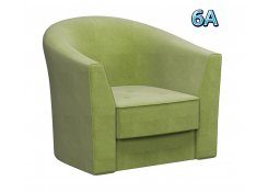 Кресло Лацио зелёное
