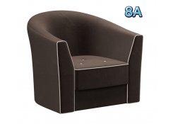 Кресло Лацио коричневое