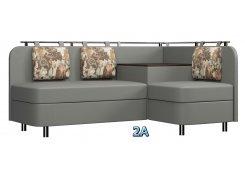 Угловой диван Лагуна М3 серый