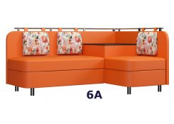 Угловой диван Лагуна М3 оранжевый