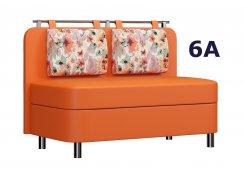 Кухонная лавка Лагуна М5 оранжевый