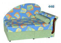 Детский диван Малыш поло описание, фото, выбор ткани или обивки, цены, характеристики
