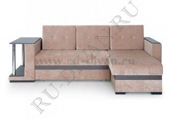 Угловой диван Атлантис фото 1 цвет коричневый