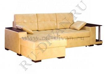 Угловой диван Квант со столиком – отзывы покупателей фото 1 цвет бежевый