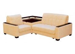 Угловой диван Аккорд-3 (Желтый)