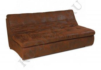Диван Релакс двухместный раскладной фото 1 цвет коричневый
