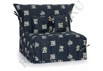 Кресло-кровать Флора фото 1 цвет черный
