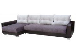 Угловой диван Премьер фиолетовый