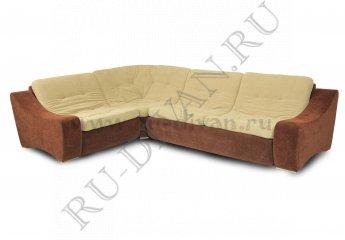 Угловой диван Монреаль раскладной фото 1 цвет коричневый