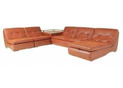 Модульный диван со столиком Монреаль большого размера