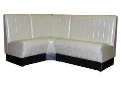Угловой диван Блюз (Белый)