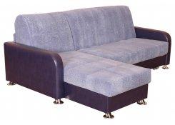 Угловой диван Аккорд (Фиолетовый)