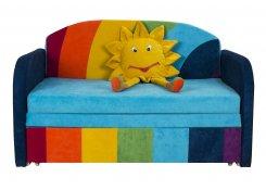 Детский диван Димочка-радуга описание, фото, выбор ткани или обивки, цены, характеристики