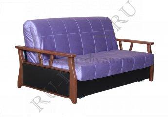 Диван Аккорд 5 аккордеон фото 1 цвета: фиолетовый, черный