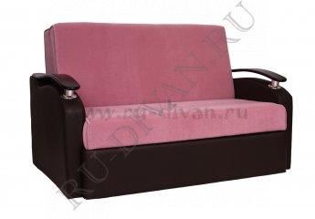 Диван Рондо аккордеон фото 1 цвета: фиолетовый, коричневый