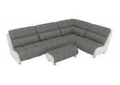 Модульный диван Клауд серый