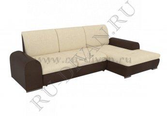 Угловой диван Кристофер фото 1 цвета: бежевый, коричневый