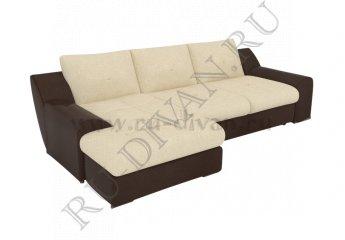 Угловой диван Чикаго фото 1 цвета: бежевый, коричневый