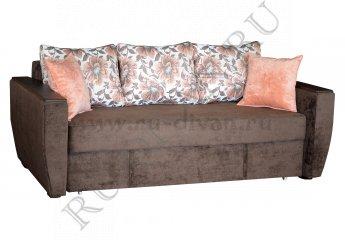 Диван Калиста люкс еврокнижка фото 1 цвет коричневый